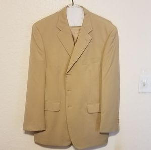 Sean John Beige Collection Pant Suit
